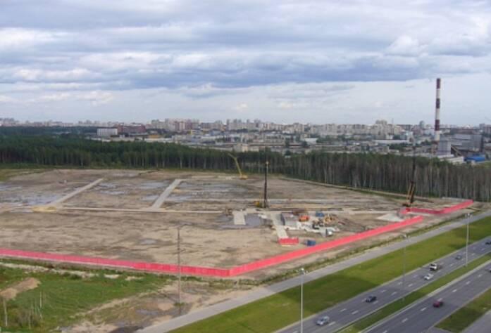 Строительство ЖК «Шуваловский» (04.09.14)