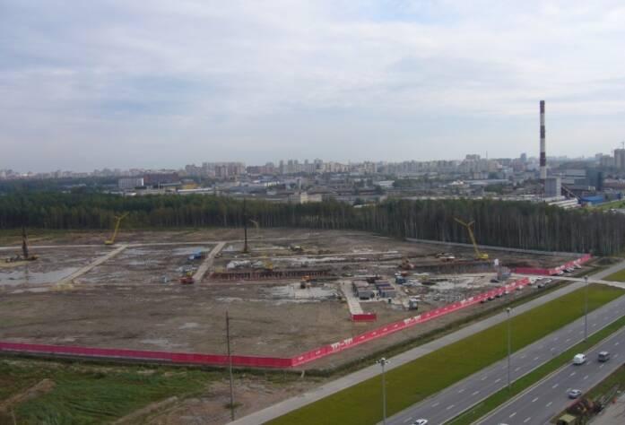 Строительство ЖК «Шуваловский» (03.10.14)