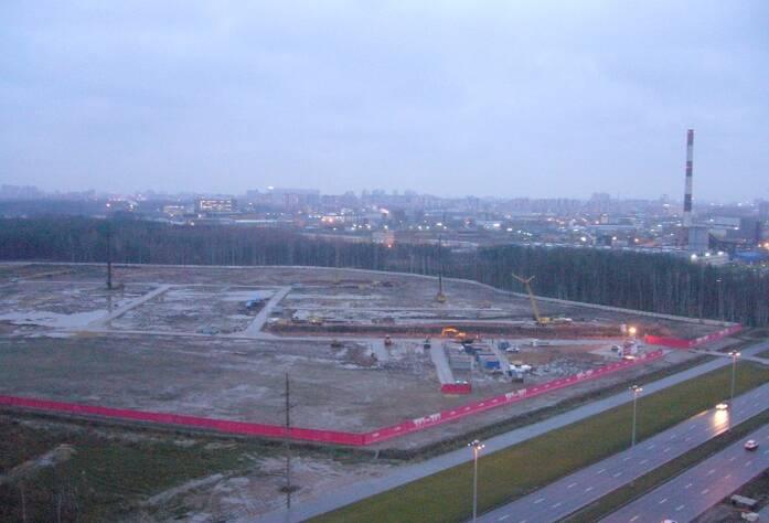 Строительство ЖК «Шуваловский» (05.11.14)