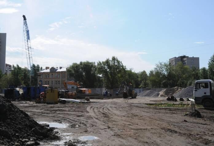 Строительство ЖК «Тойве» (июль 2014)