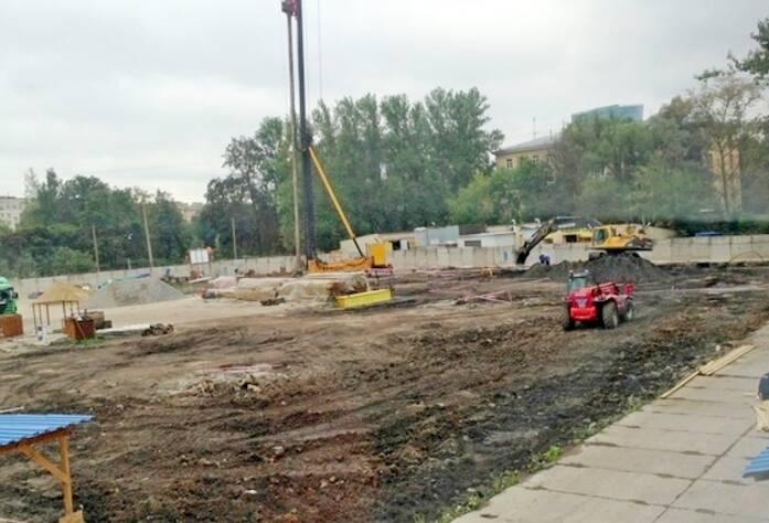Строительство ЖК «Тойве» (август 2014)