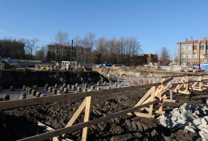 Строительство ЖК «Тойве» (октябрь 2014)