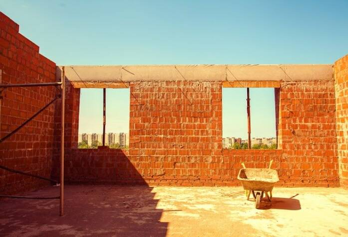 Строительство ЖК «Veda Village» (июль 2014)