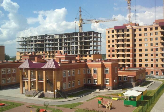 Строительство ЖК «Речной», д.3, д.4 (18.07.14)