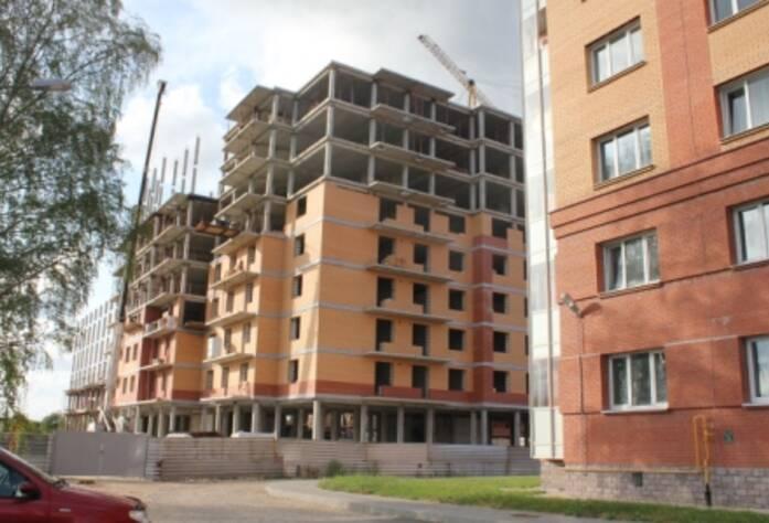 Строительство ЖК «Речной», д.3 (12.08.14)