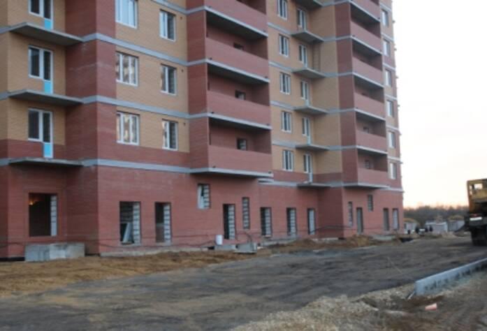 Строительство ЖК «Речной», д.4 (24.10.14)