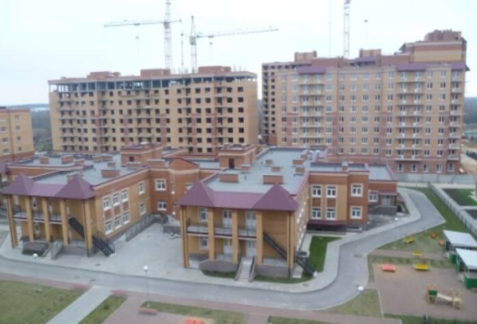 Строительство ЖК «Речной», д.3, д.4 (26.10.14)