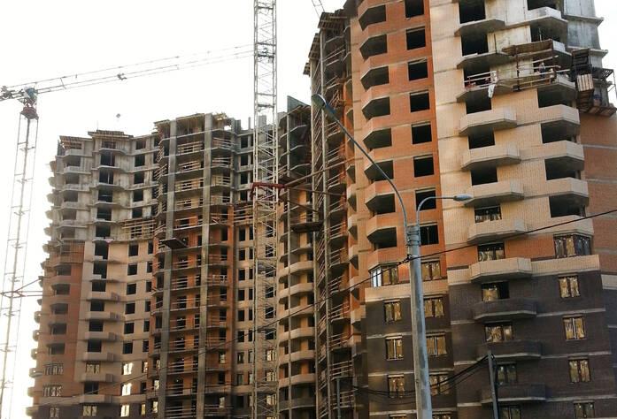 Ход строительства ЖК «Бумеранг» (ноябрь 2014)