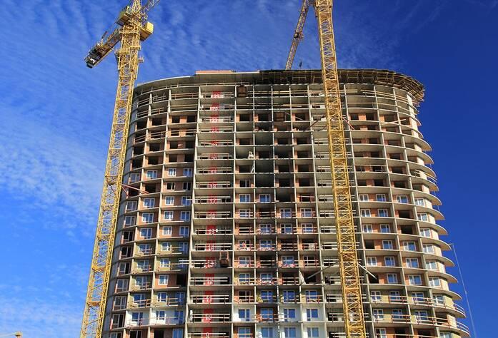Строительство ЖК «Флагман» (Кудрово)