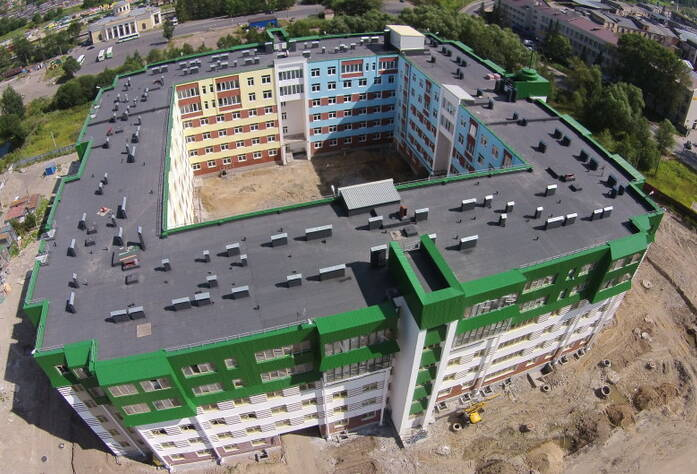 Строительство ЖК «Красное село» (01.08.14)