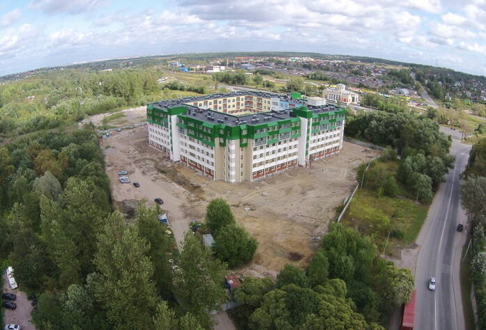 Строительство ЖК «Красное село» (21.08.14)