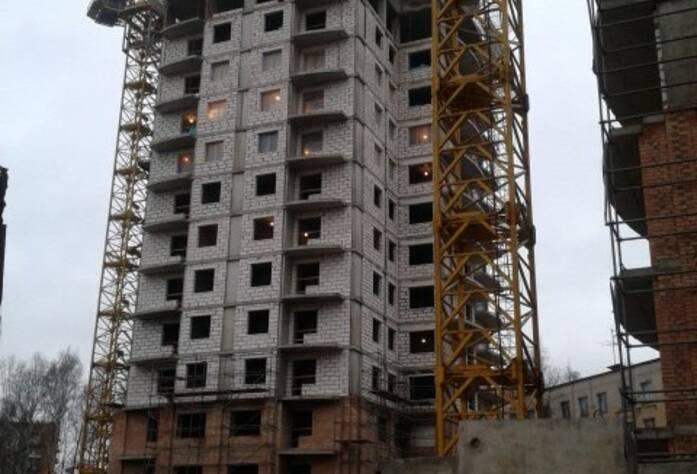 Ход строительства ЖК «Усадьба Воронцовых» (11.11.14)