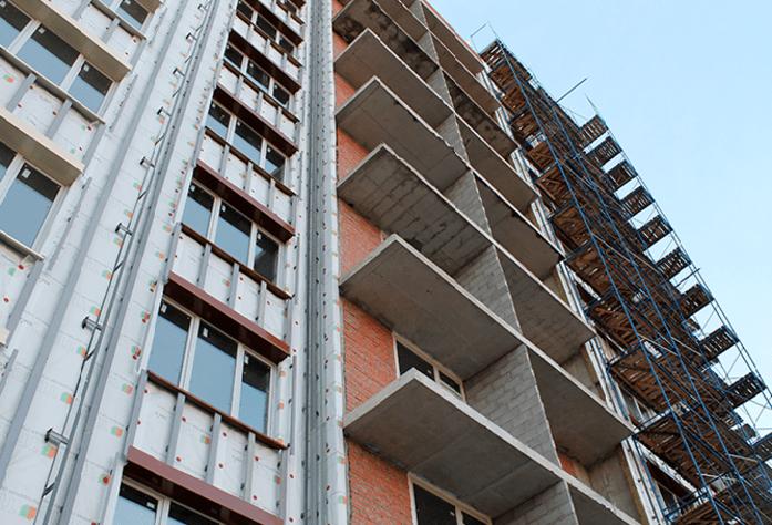 Ход строительства ЖК «Дом на Выборгской» (ноябрь 2014)