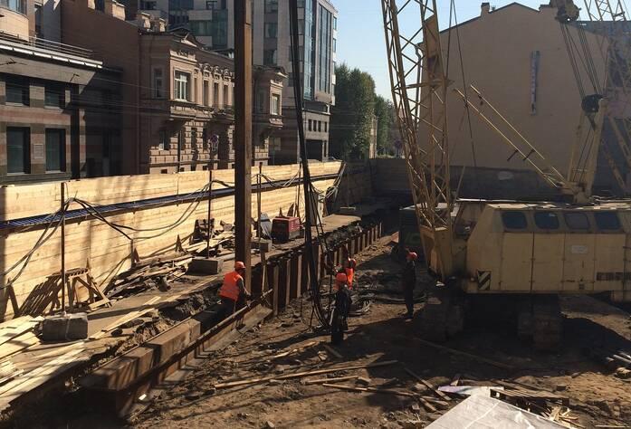 Ход строительства ЖК «Дом на Ждановке» (сентябрь 2014)