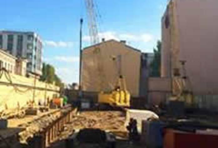 Ход строительства ЖК «Дом на Ждановке» (октябрь 2014)