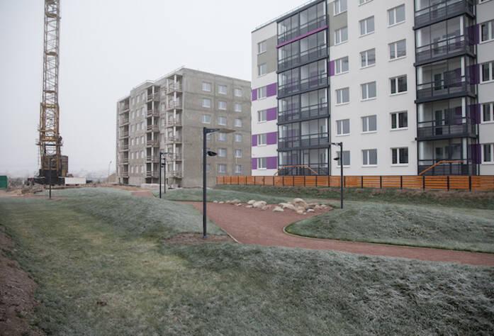 Ход строительства ЖК «Gröna Lund» (ноябрь 2014)
