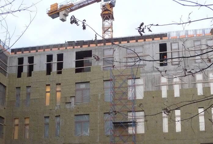 Ход строительства ЖК «Гранвиль» (ноябрь 2014)