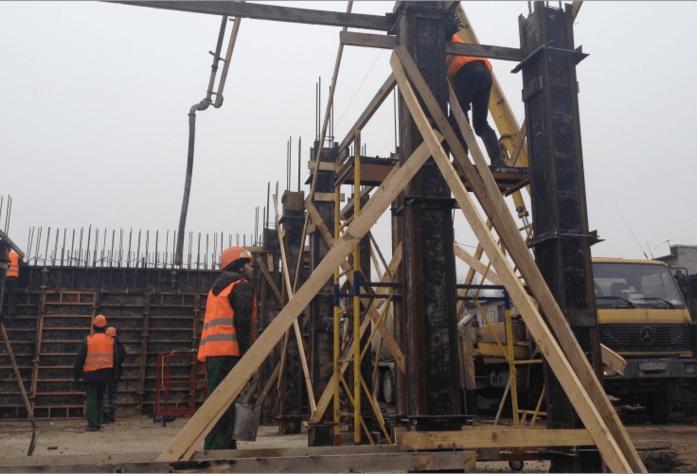 Ход строительства ЖК «Орже» (ноябрь 2014)