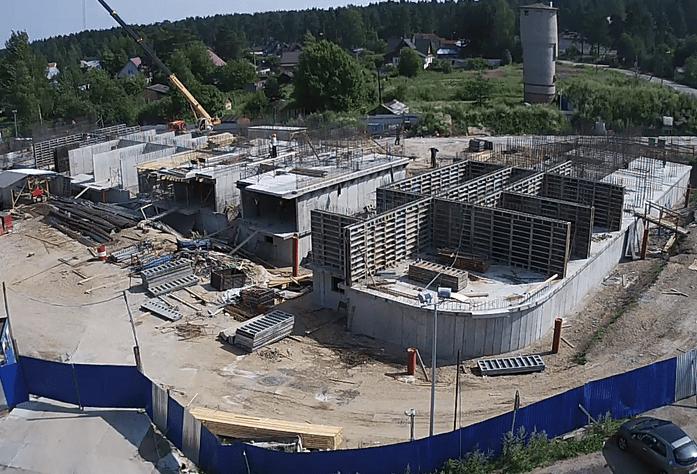 Ход строительства ЖК «Новое Рощино» (29.07.2014)