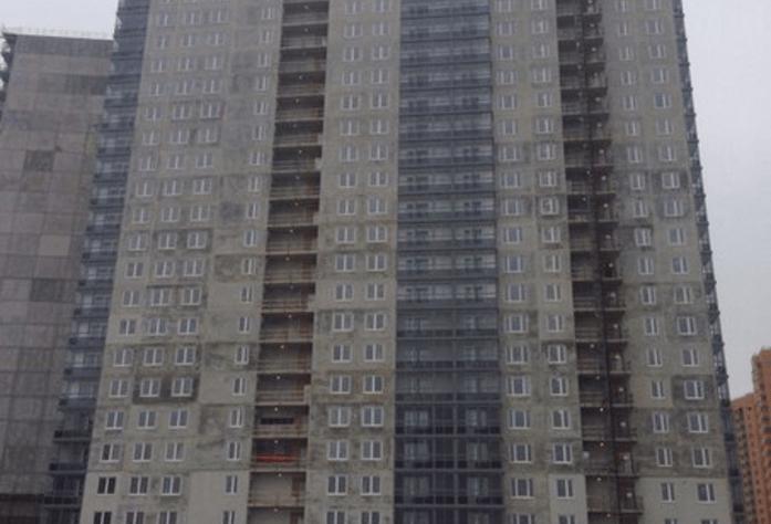 Ход строительства ЖК «Эланд», 3 очередь  (ноябрь 2014)