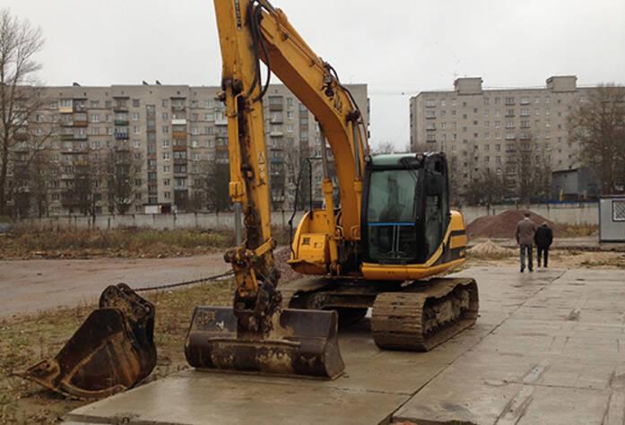 Ход строительства ЖК «Дважды два» (ноябрь 2014 г.)