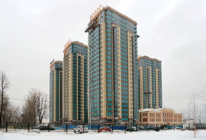 ЖК «Речной» (январь 2015)
