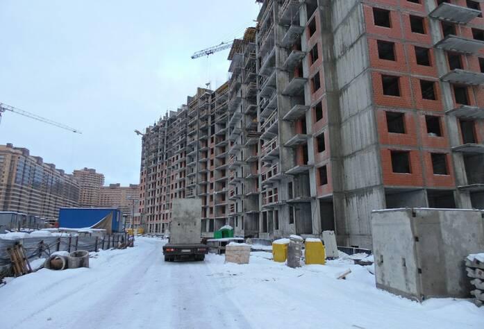 ЖК «Солнечный», корпус 15 (февраль 2015)