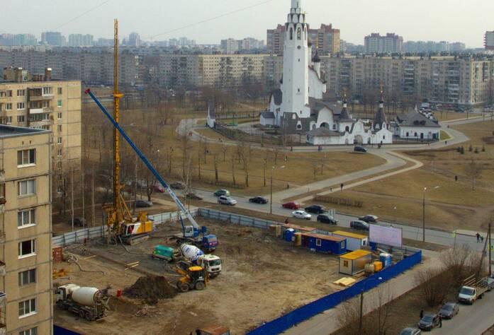ЖК «Невский эталон» (март 2015)