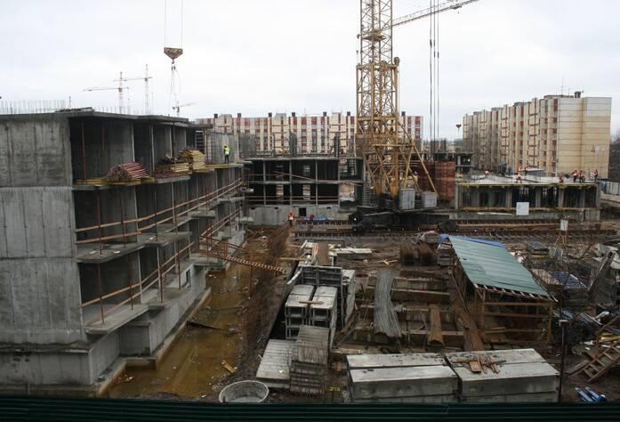 ЖК «Брусничный» (апрель 2015)