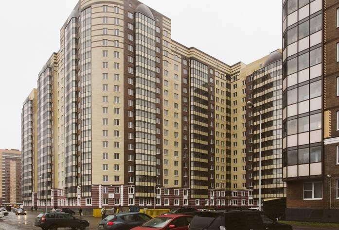 ЖК «Девяткино», дом 3 (февраль 2014)
