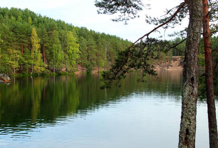 Озеро Школьное у ЖК «Кирккоярви»