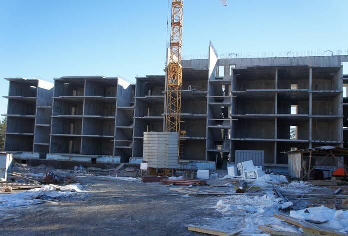 ЖК «Новое Рощино»: ход строительства (март 2015)