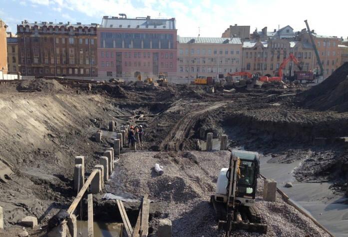 ЖК «Русский дом»: ход строительства (10.06.2015)