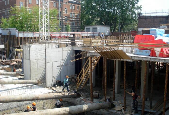 ЖК «Мироздание»: ход строительства (июнь 2015)