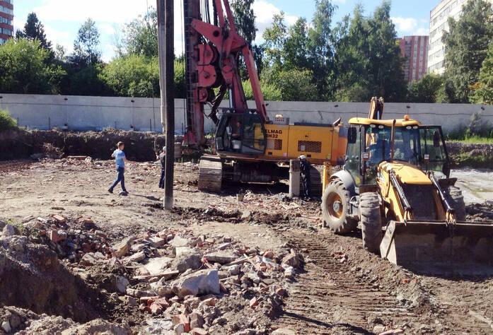 ЖК «Шуваловский Park»: ход строительства (август 2015)