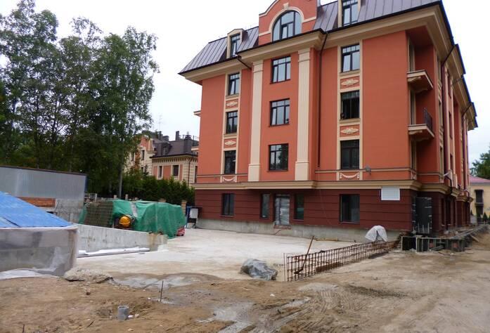 ЖК «Rich Art Clab»: ход строительства 2 корпуса  (сентябрь 2015)