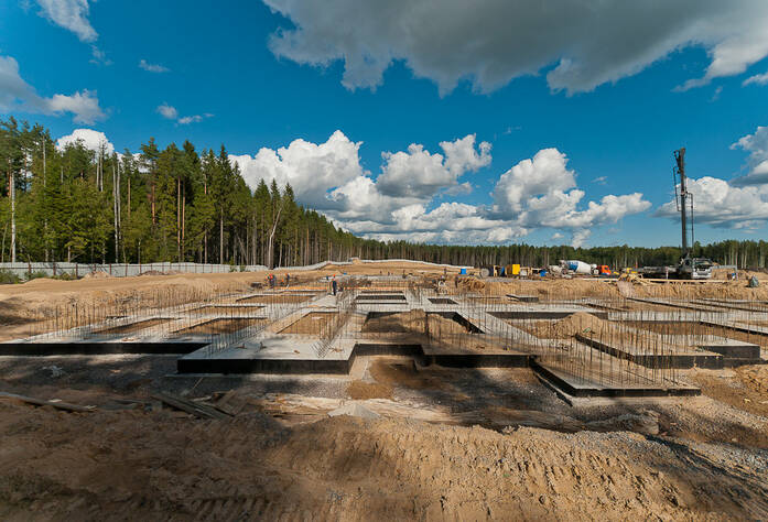 ЖК «Чистый ручей»: ход строительства (август 2015)
