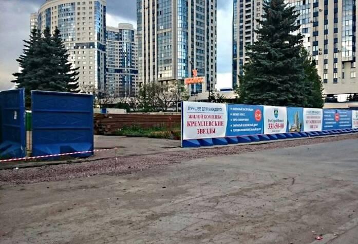 ЖК «Кремлевские звезды»: ход строительства (июль 2015)