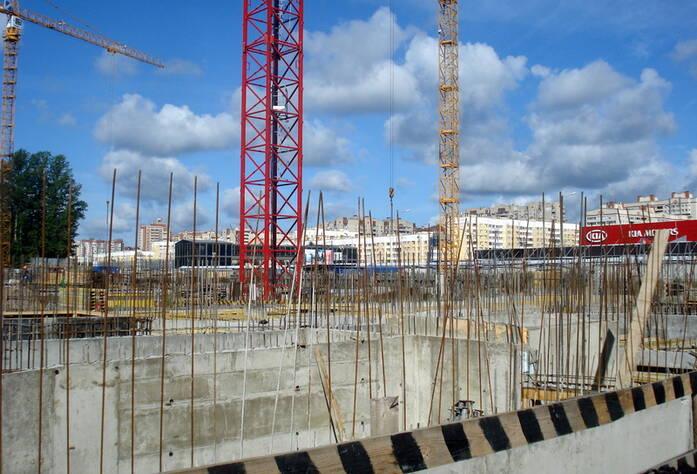Строительство 2 корпуса ЖК «Stockholm» (август 2015)