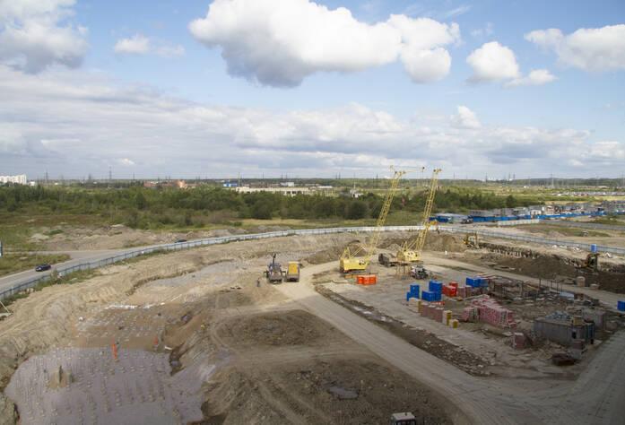 ЖК «Новый Оккервиль»: ход строительства 4 корпуса (27.08.2015)