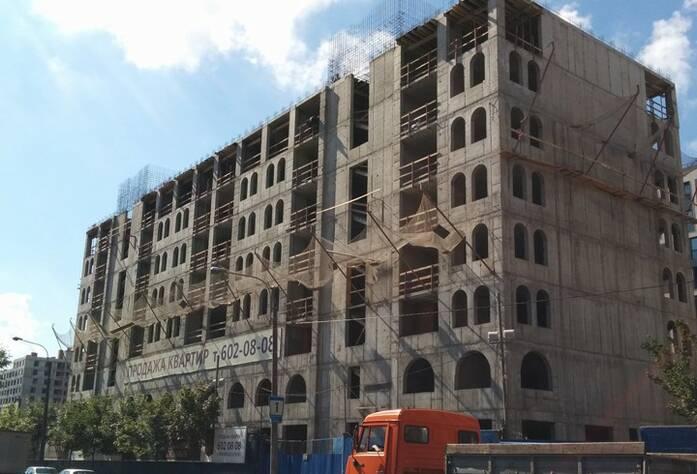 ЖК «Николаевский Ансамбль»: ход строительства (август 2015)