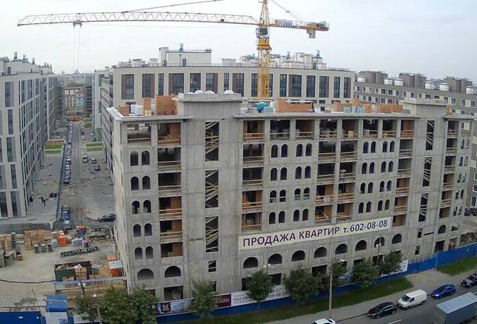 ЖК «Николаевский Ансамбль»: ход строительства (сентябрь 2015)