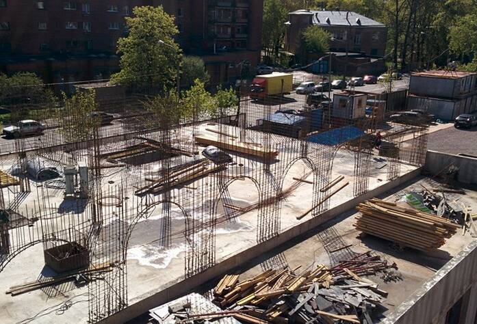 ЖК «Николаевский Ансамбль»: ход строительства (май 2015)