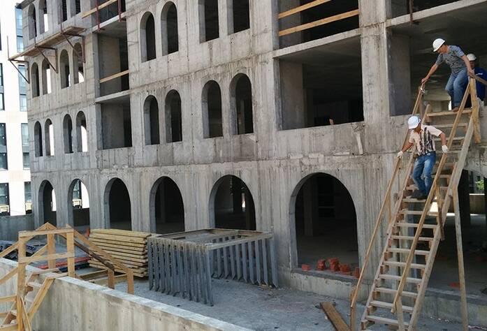 ЖК «Николаевский Ансамбль»: ход строительства (июль 2015)