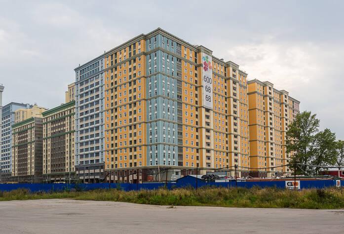ЖК «Времена года»: ход строительства (сентябрь 2015)