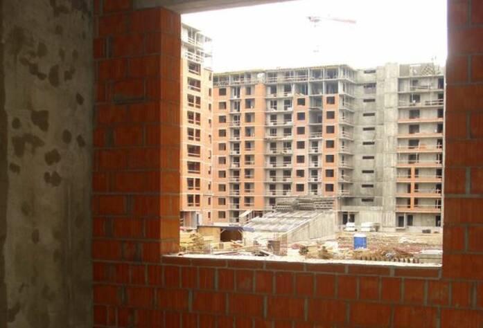 ЖК «Солнечный город»: ход строительства корпус 2  (сентябрь 2015)