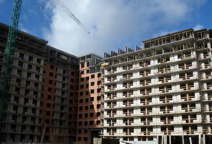 ЖК «Солнечный город»: ход строительства корпус 3 (сентябрь 2015)