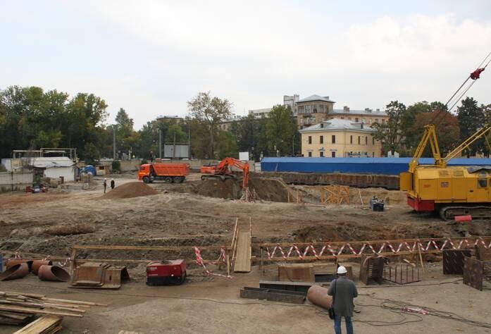 ЖК «Усадьба на Ланском»: ход строительства (сентябрь 2015)