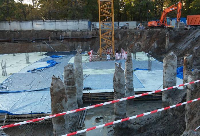 ЖК «Усадьба на Ланском»: ход строительства (октябрь 2015)
