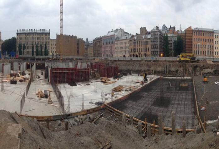 ЖК «Русский дом»: ход строительства (10.09.2015)